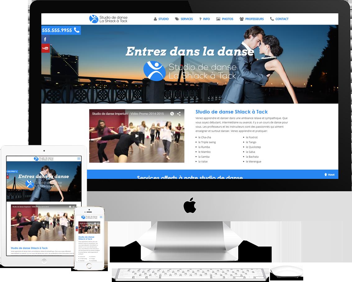 Studio de Danse - Webmatic